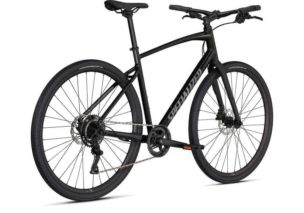 Specialized - Sirrus X 2.0 - 2021 - Black / Satin Charcoal Reflective - 3
