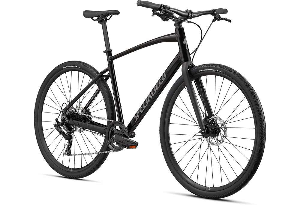 Specialized - Sirrus X 2.0 - 2021 - Black / Satin Charcoal Reflective - 2