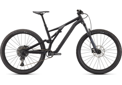 Specialized - Stumpjumper Alloy - 2021 - SATIN BLACK / SMOKE - 1