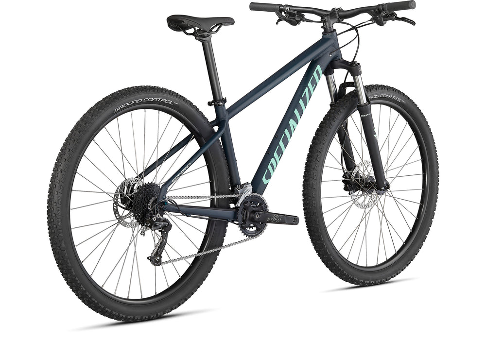 "Specialized - Rockhopper Sport 29"" - 2021 - SATIN FOREST GREEN / OASIS - 3"