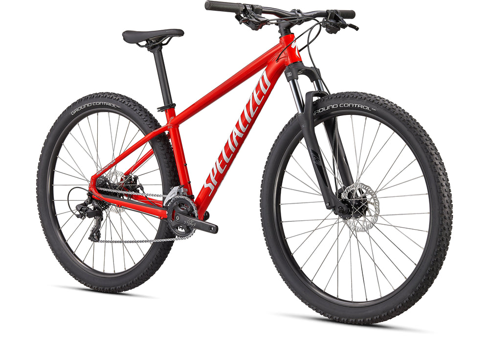 "Specialized - Rockhopper 27.5"" - 2021 - GLOSS FLO RED / WHITE - 2"