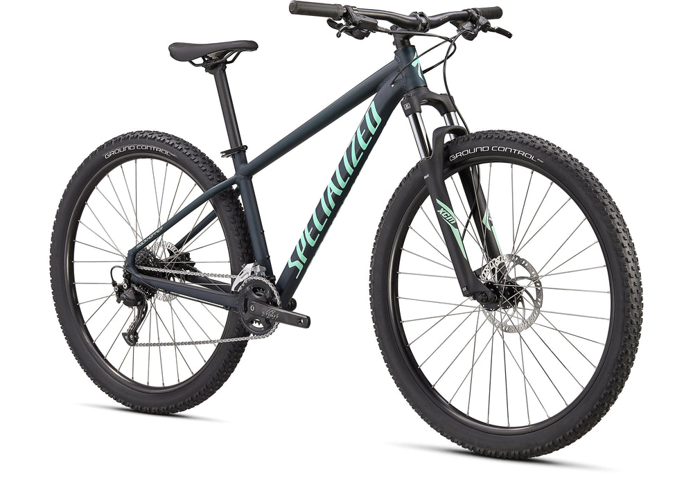 "Specialized - Rockhopper Sport 29"" - 2021 - SATIN FOREST GREEN / OASIS - 2"