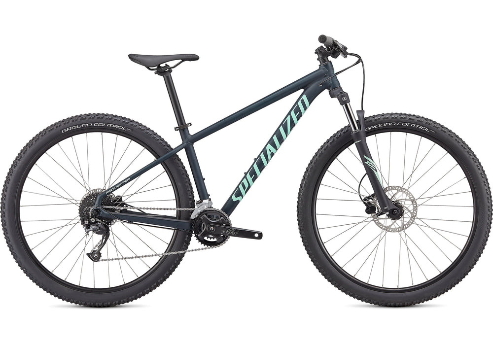 "Specialized - Rockhopper Sport 29"" - 2021 - SATIN FOREST GREEN / OASIS - 1"