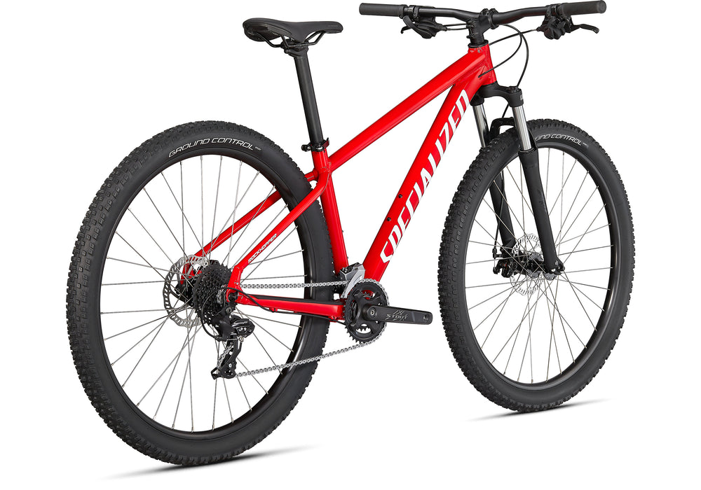 "Specialized - Rockhopper 27.5"" - 2021 - GLOSS FLO RED / WHITE - 3"