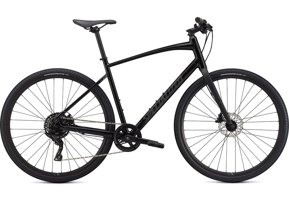 Specialized - Sirrus X 2.0 - 2021 - Black / Satin Charcoal Reflective - 1