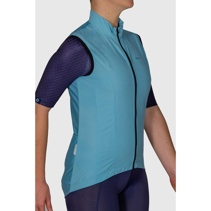 Black Sheep Cycling - Euro Collection Women's Malted Mint Wind Vest - XS - 2