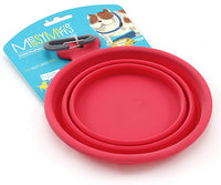 Collapsible Dog Water and Food Bowl - Messy Mutts