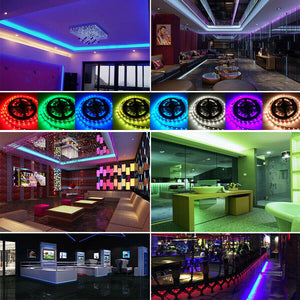 5M LED Coloured Light Strips