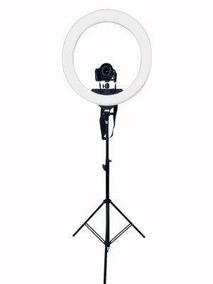 "22"" Ring Light 2.1M Tripod With Remote"