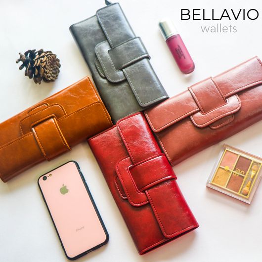 La Douce wallets from Bellavio