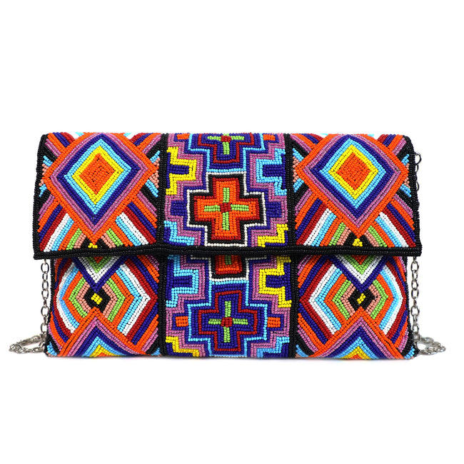 Bijoux Cher - Envelope Clutch - Colors of World