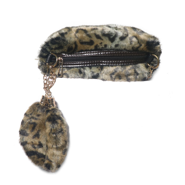 Fuzzy Fur Sling Bag