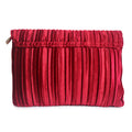 Pleated Velvet - Envelope Clutch