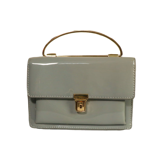 Lucida Crossbody - Metal Top Handle