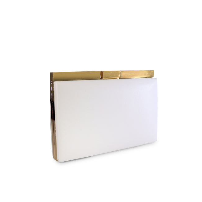 La Douce Unichrome Sling Clutch