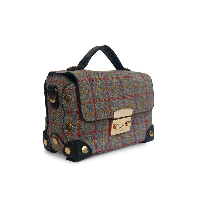 Tartan Box - Shoulder Bag