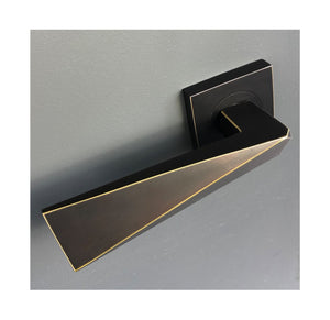 Facet lever handle