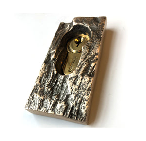 Timber Grain escutcheon
