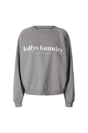 Lollys Laundry Tate Sweat Shirts / Blouses 11 Grey Melange