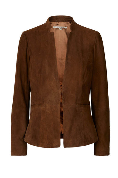 Lollys Laundry Addison jacket Leather 58 Camel