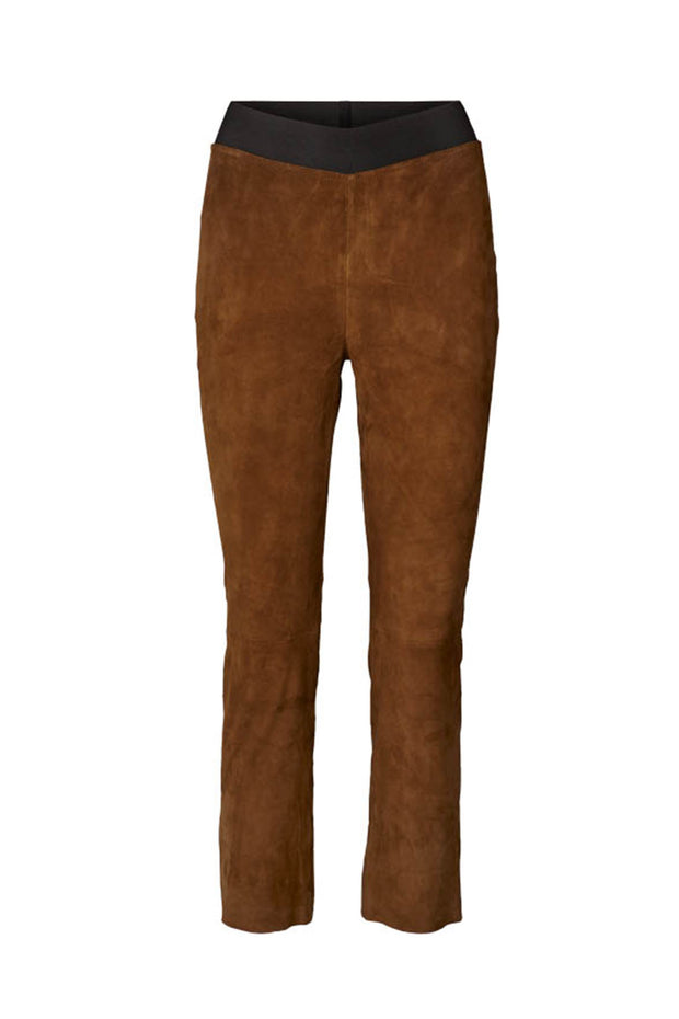 Lollys Laundry Lucy Pants Leather 58 Camel