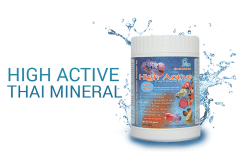 CZ AQUA High Active Thai Mineral for Fishes 100 grams