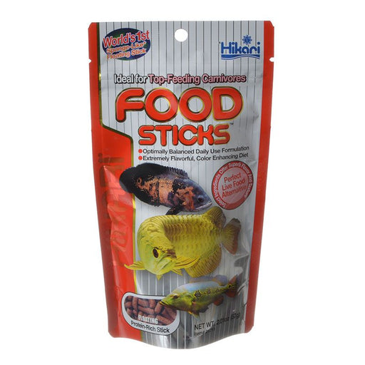 Hikari Food Sticks Floating Food for Top Feeding Carnivores 2.01oz