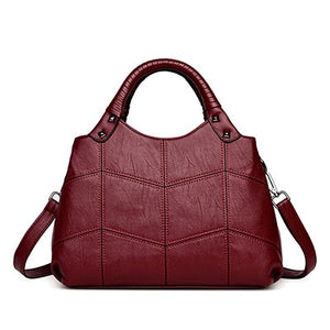 BETTY'S Vintage Casual Leather Handbag_1