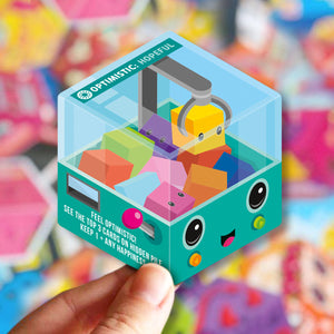 Block Happy optimistic card