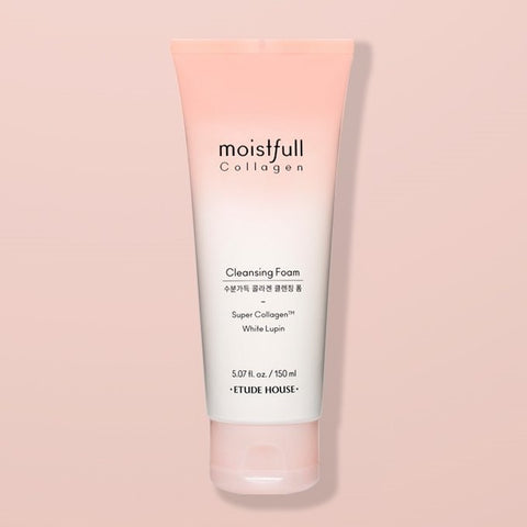 ETUDE HOUSE - Moistfull Collagen Cleansing Foam - 150ml