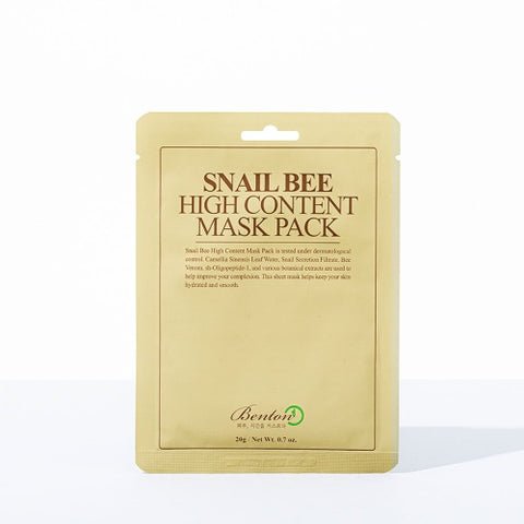 BENTON - Snail Bee High Content Mask 20gr