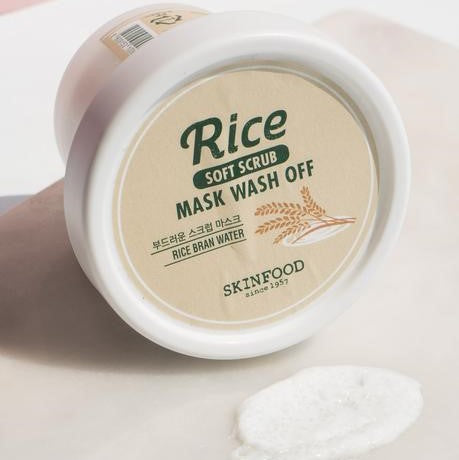SKINFOOD -  Rice Mask Wash Off 100g