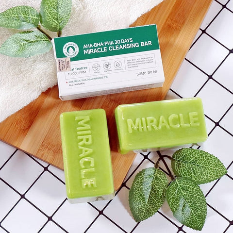 SOME BY MI - AHA BHA PHA 30 Days Miracle Cleansing Bar 106gr