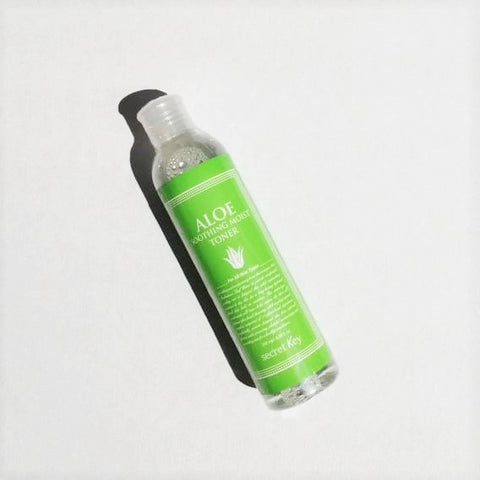 SECRET KEY - Aloe Soothing Moist Toner - 248 ml