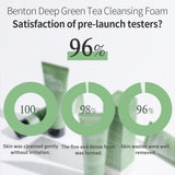 BENTON - Deep Green Tea Cleansing Foam - 120gr