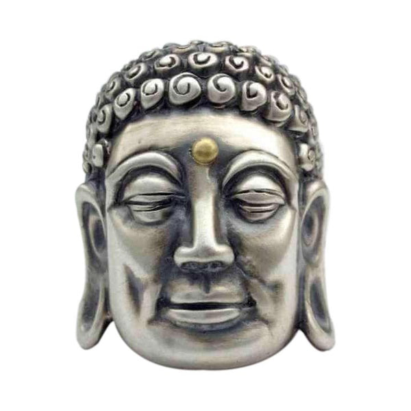 BUDDHA RING WITH SAPPHIRE OR GOLD THIRD EYE