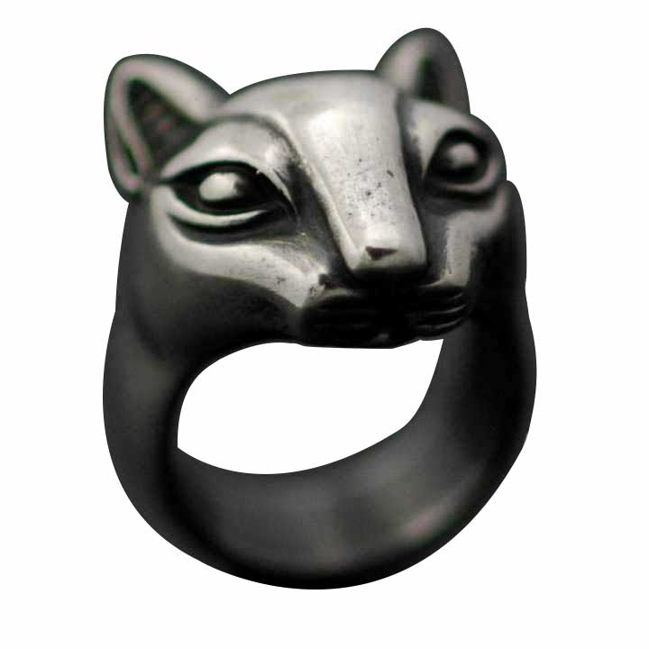 EGYPTIAN CAT RING