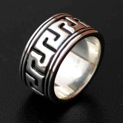 MEN'S LABYRINTH BAND - Orfebre Goldsmith NYC
