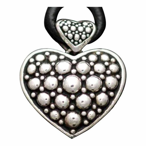 BUBBLE HEART PENDANT