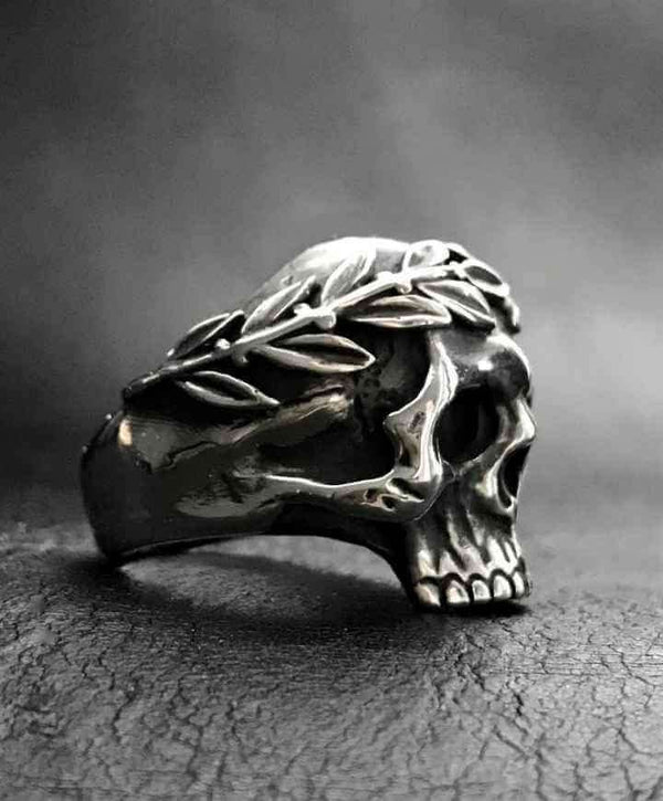 SKULL OF CAESAR RING - Orfebre Goldsmith NYC