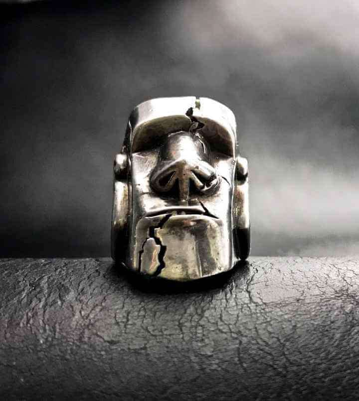 MOAI RING - Orfebre Goldsmith NYC