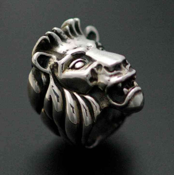 LION RING - Orfebre Goldsmith NYC
