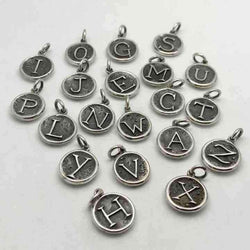 ALPHABET CHARMS OR PENDANTS