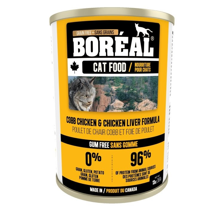BOREAL Cat Cobb Chicken & Chicken Liver Formula 369g - Catoro Cat Cafe