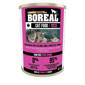 BOREAL Cat Cobb Chix, NZ Lamb & Angus Beef Formula 369g - Catoro Cat Cafe