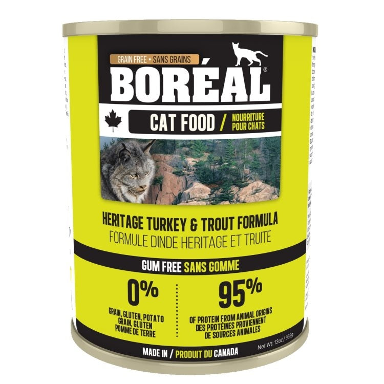 BOREAL Cat Heritage Turkey & Trout 369g - Catoro Cat Cafe