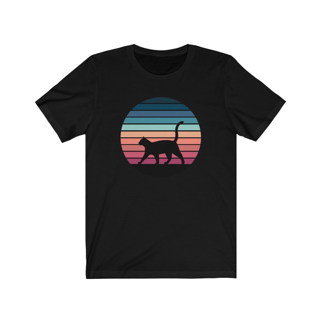 Retro Sunset Unisex T-shirt - Catoro Cat Cafe