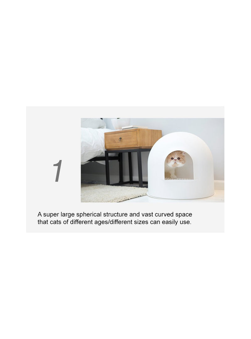 Igloo Cat Litter Box (Bonus Litter!) - Catoro