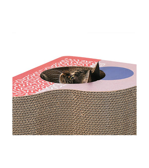 Cat Scratching Board - Memphis of Egypt - Triangle Style - Catoro Cat Cafe