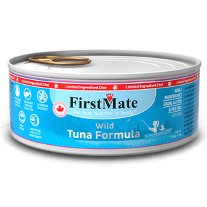 FirstMate Cat LID GF Wild Tuna 156g/5.5 oz - Catoro Cat Cafe
